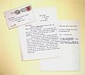 Postcard from Rome, letter; Wellcome ephemera, 1929 Wellcome L0021421.jpg