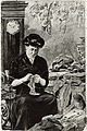Poster con disegno di donna che cuce per i militari - sullo sfondo.jpg