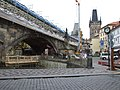 Praha, Malá Strana, Karlův most, rekonstrukce II.JPG