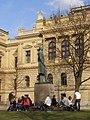 Praha, Staré Město, Alšovo nábřeží, Mánes 01.jpg