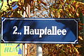 Prater Hauptallee Strassenschild.JPG
