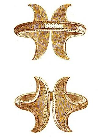 Prehistory of Southeastern Europe - Bronze Age gold bracelet, Romania.