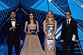 Presenters at the 2019 Eurovision Song Contest Grand Final Dress Rehearsal.jpg