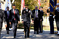 President Barack H. Obama, second from left, walks with U.S. Army Maj. Gen. Jeffrey S. Buchanan, center, the commanding general of Joint Force Headquarters-National Capitol Region and U.S. Army Military District 131111-A-VS818-150.jpg