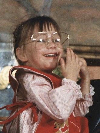 Jessica McClure - McClure in 1989