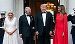 President Trump and First Lady Melania Trump at Winfield House (48007958886).jpg
