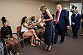 President Trump and the First Lady in Dayton, Ohio (48482956246).jpg