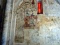 Prieuré Notre-Dame de Salagon, fresques de la nef de l'église.JPG