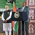 Prime Minister Narendra Modi at the Community reception in Nairobi.jpg