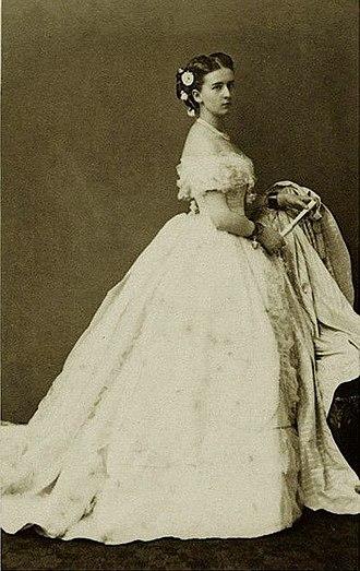 Princess Marie of Hohenzollern-Sigmaringen - Image: Princess Marie of Hohenzollern Sigmaringen, 1860s