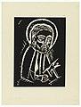 "Print, Svaty Marek Evangelista, Saint Mark the Evangelist, Plate VII, ""Ethiopie, cili Christos, Madonna a Svati, jak jsem ie videl v illuminacich starych ethiopskych kodexu"" Portfolio, 1920 (CH 18684923).jpg"