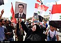 Pro-government Syrians demonstration in Damascus after US missile strike 04.jpg
