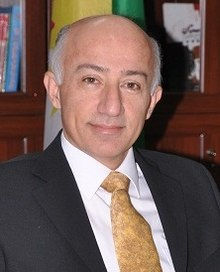 Professor Dlawer Ala-Aldeen former Minister of Higher Education at KRG 2011.jpg