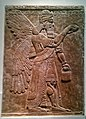 Protective Spirit, Assyrian, about 865-860 BC from Nimrud, North-West Palace, Room 2, Panel 2 - British Museum.jpg