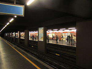 Porta Venezia (Milan Metro) - Image: Pta Venezia
