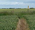 Public footpath to Ragdale Hall - geograph.org.uk - 884144.jpg