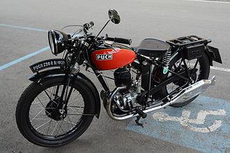 Puch - Puch 250 R, built 1935