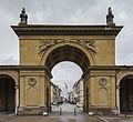 Puerta al Jardín del Patio, Múnich, Alemania, 2013-02-03, DD 02.JPG