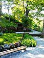 Puhkenurk Pühajõe ääres Oru pargis.jpg