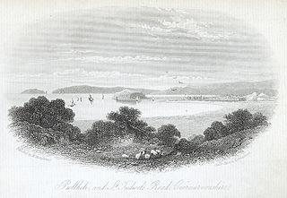 Pwllheli and St. Tudwel's Road, Caernarvonshire