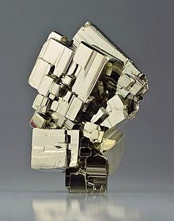 Pyrite Iron (II) disulfide mineral