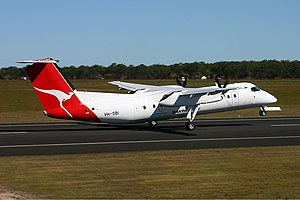 QantasLink (Sunstate Airlines) De Havilland Canada DHC-8-315Q Dash 8 Bundaberg Vabre.jpg