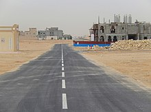 Qatar, Umm Garn (Umm Qarn)(5), residential area under construction.jpg