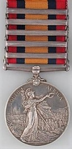 Queen's South Africa Medal with 5 clasps, reverse.jpg