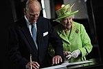 Queen Elizabeth II, Titanic Belfast, 2012 (8).jpg