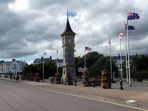 Queen Victoria Diamond Jubilee Clock