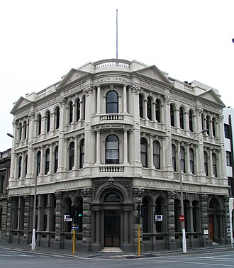 Nathaniel Young Armstrong Wales - The former New Zealand Insurance Company Building