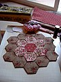 Quilt - grandmother's flower garden.jpg