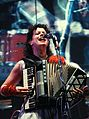 Régine Chassagne (Arcade Fire) - Manchester Central - 2010 (2).jpg