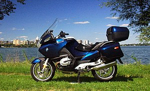 Biarritz blue BMW R1200RT