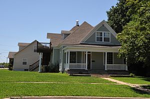 National Register of Historic Places listings in Laclede County, Missouri - Image: RALPH E. BURLEY HOUSE, LEBANON, LACLEDE COUNTY, MO