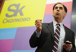 Edward F. Crawley - Crawley presenting at the Skolkovo Institute of Science and Technology