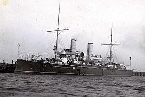 Italian cruiser Puglia - Image: RN Puglia