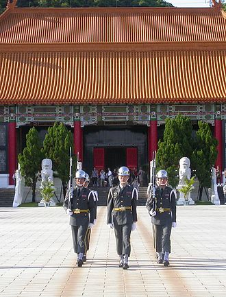 National Revolutionary Martyrs' Shrine - Image: ROCA Honor Guard at National Revolutionary Martyr's Shrine 20070806