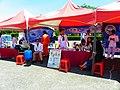 ROCN Recruit Booths at Military Academy Ground 20140531.jpg