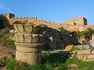 Chellah medieval fortified Muslim necropolis located in the metro area of Rabat