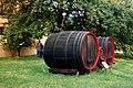 Radebeul, barrels in the vineyard estate Hoflößnitz.jpg