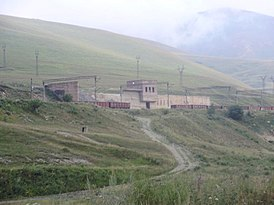 Railroad station in Sotk (Gegarkunik, Armenia).jpg