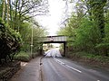 Railway Bridge, A525, Keele - geograph.org.uk - 1271226.jpg