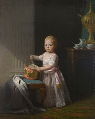 Der junge Prinz Wilhelm (Gemälde von Allan Ramsay, 1767) (Quelle: Wikimedia)