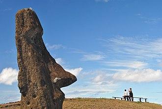 Rapa Nui National Park - Image: Rapa Nui, Rano Raraku