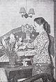 Ratna Ruthina arranging flowers Film Varia May 1954 p5.jpg