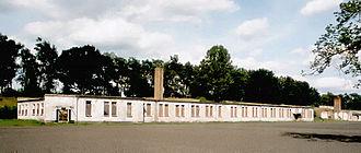 Ravensbrück concentration camp - Barracks on the grounds of the former women's camp