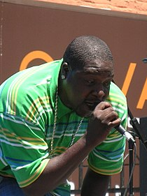 Ray Luv performing at 5th Annual AHSC 1.JPG