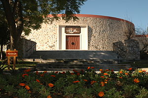The Webb Schools - The exterior of the Raymond M. Alf Museum of Paleontology located on The Webb Schools campus, Claremont, CA.