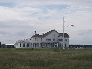 Royal Cinque Ports Golf Club - Clubhouse in 2008